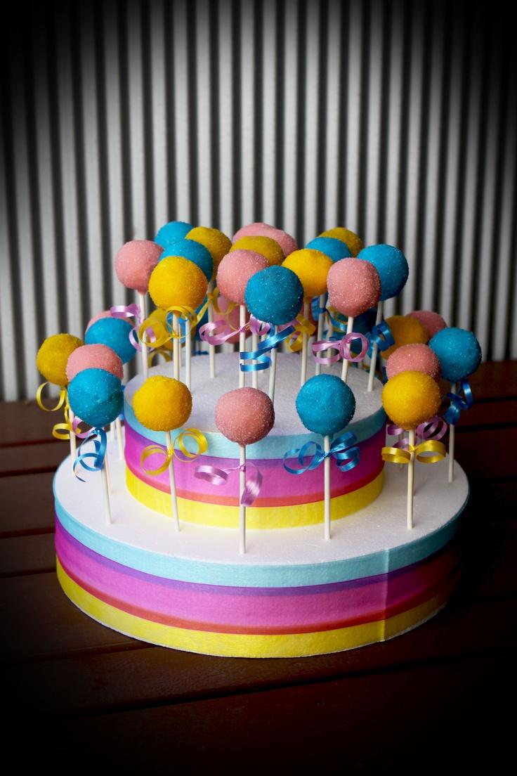 Tim Tam cake pops.