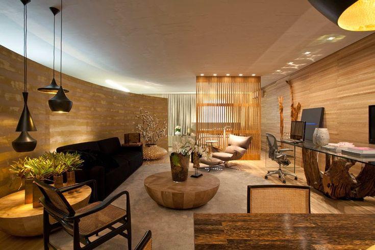 30 Salas com home offices integrados – veja modelos inspiradores e dicas! Veja muito mais fotos, dicas e informações técnicas desse home office em Decor Salteado! É só clicar nas imagens! ; - )