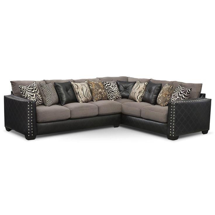 Perfect Lola Pc Memory Foam Sleeper Sectional American Signature Furniture