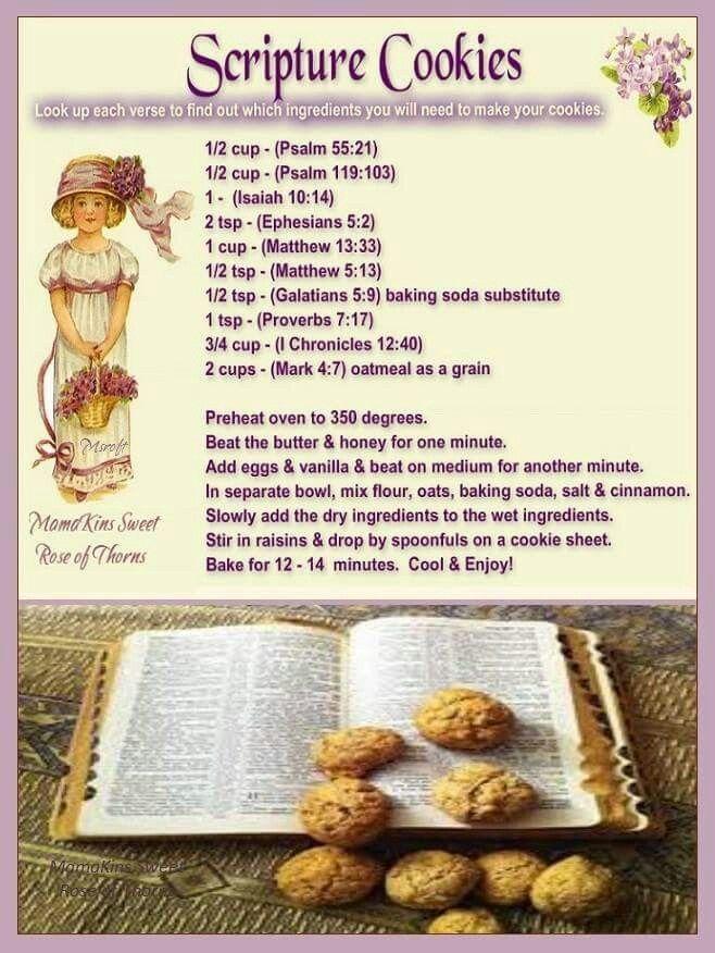 Scripture Cookies …