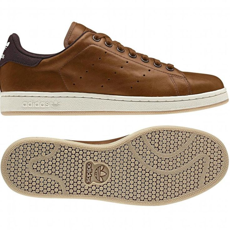 Brown sneakers - the brown version of Stan Smith looks modern n classy. Adidas Stan Smith - brown.