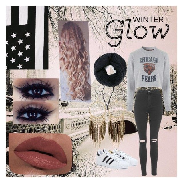 """""""Winter 2015/2016"""" by lovestory-143 on Polyvore featuring mode, Topshop, adidas, LORAC et Panacea"""