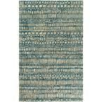 Abin Navy (Blue) 5 ft. x 7 ft. 6 in. Area Rug
