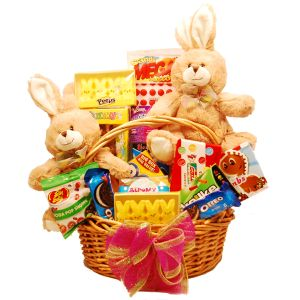35 best easter baskets images on pinterest deluxe easter basket tasteful treats and treasures gift baskets negle Gallery