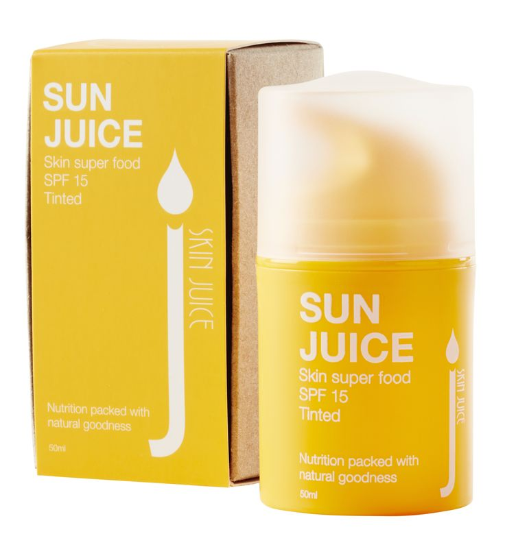SKIN SUPER FOOD SPF Sun Juice Tinted contains both warm and cool earth minerals, allowing it to adjust and suit most skin tones. For oily skin, use as a day moisturiser, or for added nourishment, layer over your favourite Skin Juice face cream. This healthy SPF is both Pregnancy and child safe.