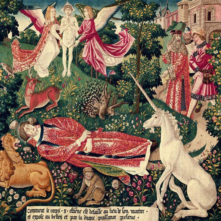 Tenture de Saint Etienne : pièce V