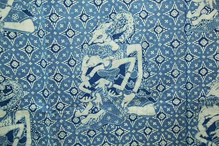 The Bluish Indigo Batik