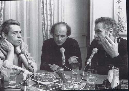 Georges Brassens, Jacques Brel et Léo Ferré les meilleurs - Célèbre affiche