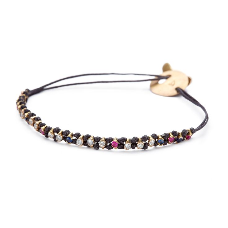 Diamond, ruby and sapphire riviera! www.apriati.com