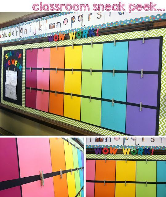 1000+ Ideas About Display Student Work On Pinterest