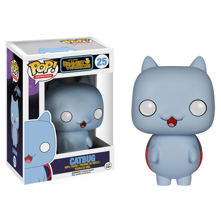 Cartoon Hangover Bravest Warriors Pop Vinyl Figure Catbug