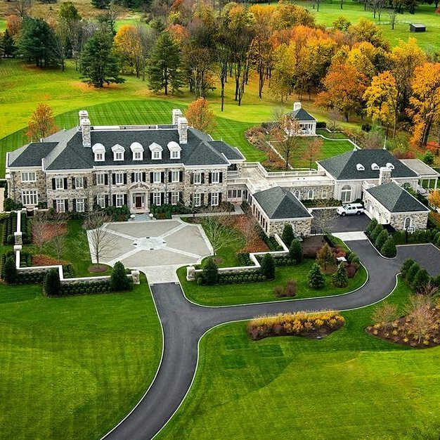 """1,351 Likes, 9 Comments - Homes of the Rich (@homesoftherich) on Instagram: """"Good morning this mansion is located in Greenwich, CT and is owned by a hedge fund manager…"""""""