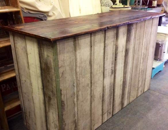 VINTAGE KITCHEN ISLANDS ~ CHECK OUT COUNTER ~ RECLAIMED VINTAGE ARCHITECTURAL