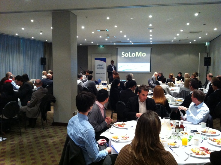 """""""Social Media for Business"""" Presentation by Logan Nathan at a ADIA (Australian Dental Industry Association) Function held in Sydney on the 6 July 2012"""