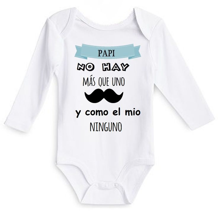 Body como mi papi ninguno en www.babyexpress.es