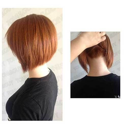 Beautifully layered short haircuts for women