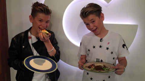 Fredagstaco med Marcus og Martinus FOTO: TV 2 / TV 2