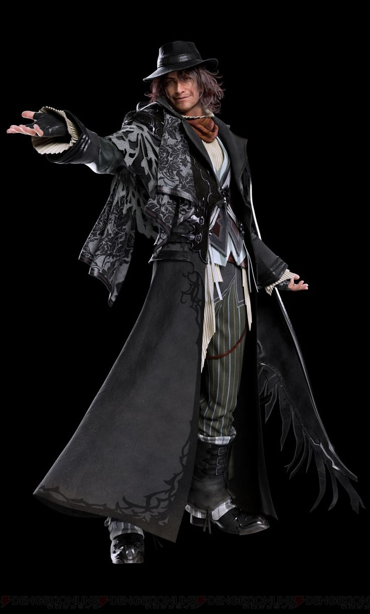 New Final Fantasy XV CG character renders revealed - Nova Crystallis