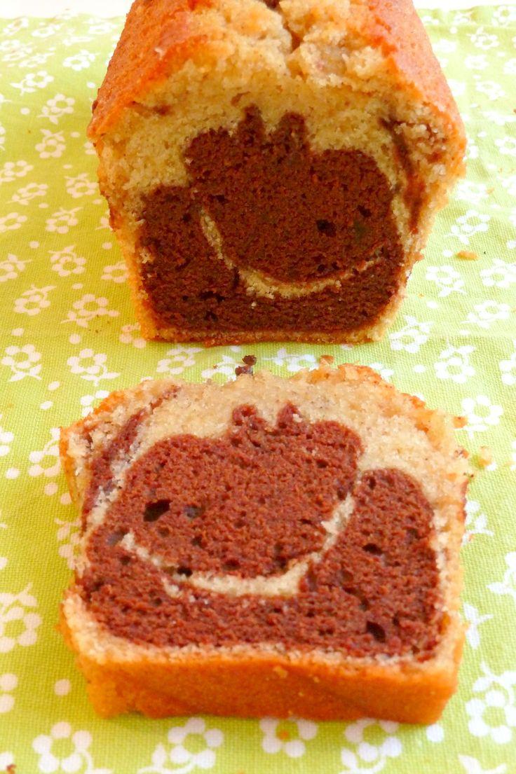 Bonjour! J'ai refait une recette de marbré chocolat-vanille que j'avais postée il y a quelques temps, parce que la photo me faisait terriblement honte hihi, et j'en ai profité pour faire les modifications que je suggérais (1/3 de pâte au…