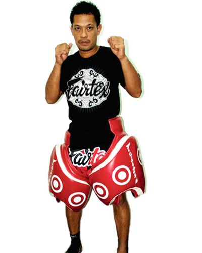 Fairtex Muay Thai und MMA Shop - Fairtex Oberschenkelschoner TP3 - Pratzen