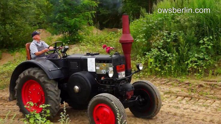 Traktor Lanz Bulldog.
