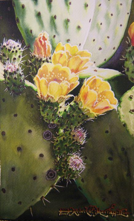 17 Best Images About Cactus Succulent Art On Pinterest