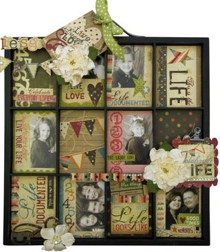 printer's trayShadowbox, Altered Trays, Cute Ideas, Old Windows, Home Decor, Printer Trays, Shadows Boxes, Simplee Stories, Simple Stories