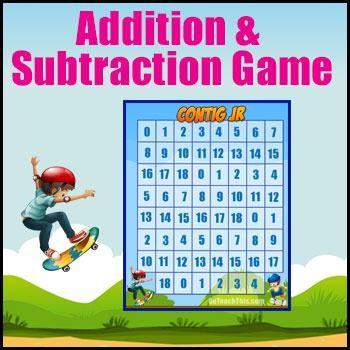 134 best Addition Games images on Pinterest   Addition games, Ten ...