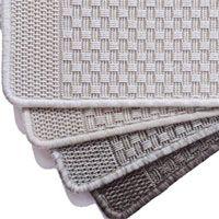 Basket rug - Silver   Design:Basket rug Colour:Silver Sizes:200 x 290cm   280 x 400cm Composition:100% Polypropylene; Care Instructions:Vacuum Regularly;   Blot Spills Immediately;   Spot Clean