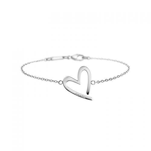 Heeft u al een cadeau voor uw Valentijn? Dit is een armband van Calvin Klein Bijoux