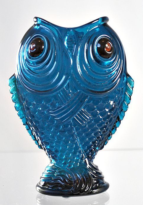 "Emile Gallé Enameled Blue ""Poissons Siamois"" Vase from Scholaert Cassel Galleries"