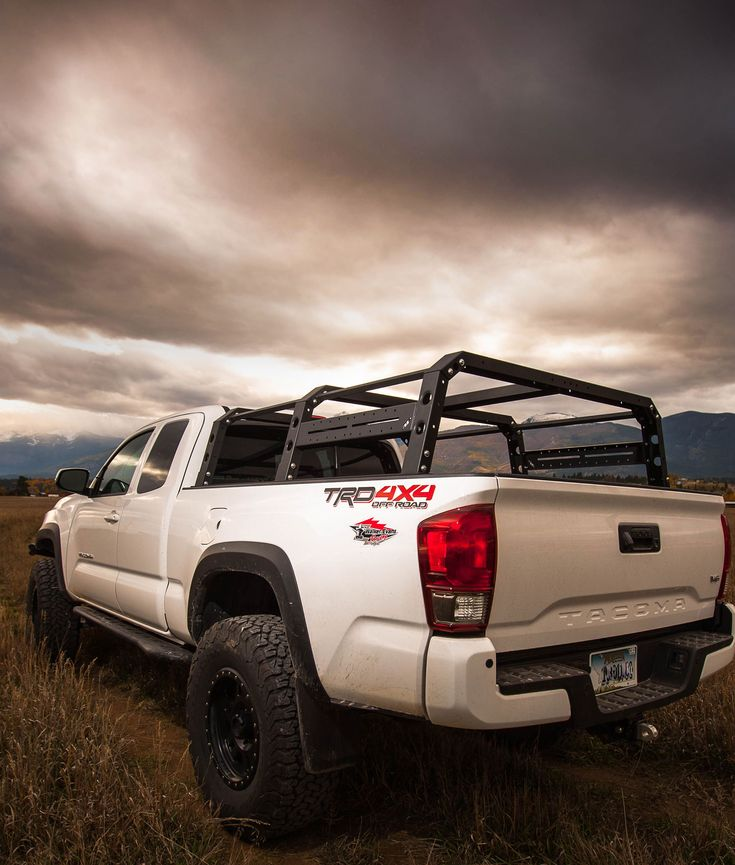 C4 fab 2016 tacoma full height bed rack 6 tacoma pinterest all pro modular pack rack for the 16 toyota tacoma truck this is sciox Image collections
