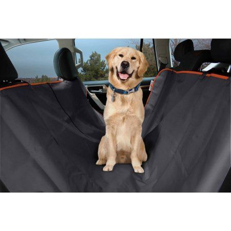 Aspca Car Seat Cover with Bowl, Orange