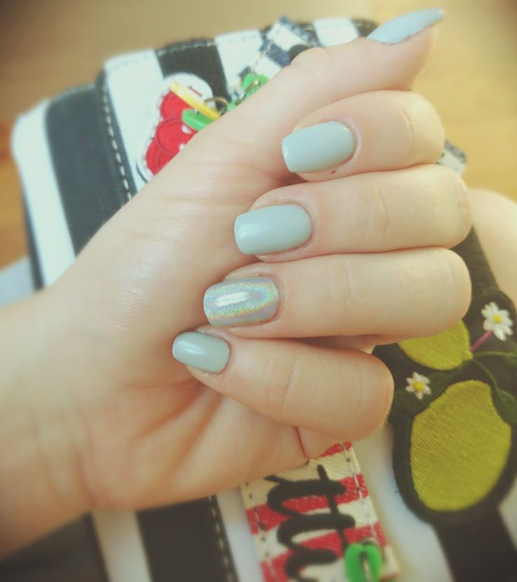 Holo effect, light, gray, tutti frutti