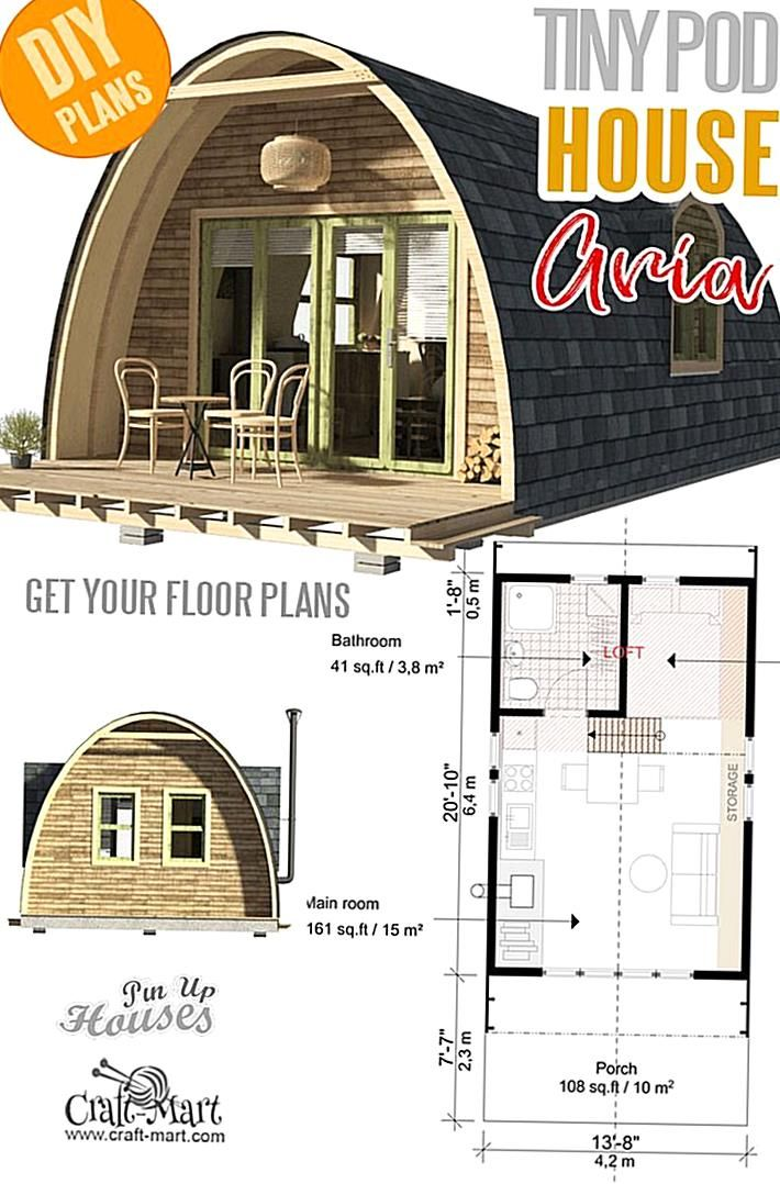16 Small And Tiny Home Plans With Cost To Build That Is Based Of The Actual Builders Experience A In 2020 Courtyard House Plans Pole Barn House Plans Barn House Plans