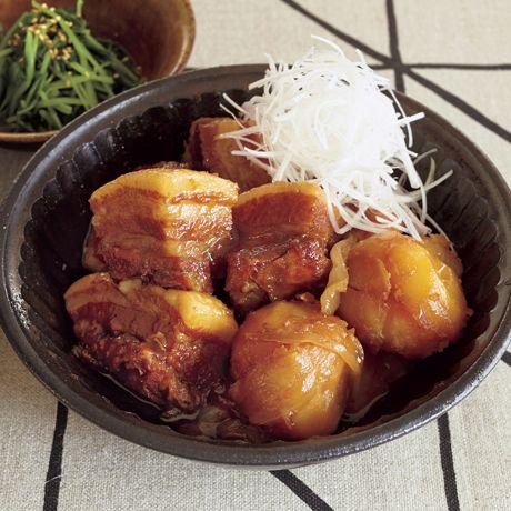ごろごろ角煮肉じゃが | コウケンテツさんの角煮・煮豚の料理レシピ | プロの簡単料理レシピはレタスクラブニュース