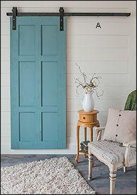 Traditional Barn-Style Door Hardware - Lee Valley Tools