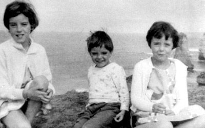 """Today in Australian History - 1966 - As Australians celebrate """"Australia Day"""", 3 children go missing.  Parents began to believe that their children could no longer be presumed to be safe; earlier generations had routinely allowed their children the same freedoms the Beaumont children had enjoyed. To read more click on photo"""