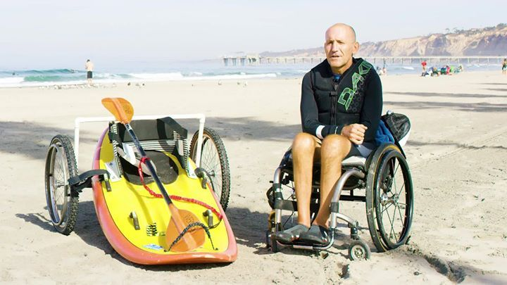 """""""For someone who has been recently injured and finds that their life has changed dramatically to a format that they have absolutely no experience with, my message would be: You're going to be ok.""""  -Spike Kane, member of Surfing England at the 2017 Stance ISA World Adaptive Surfing Championship #action #urban #win #sport #video #aerialphotography    #sports #camera #photography #photo #amazon #film   #gopro #dronephotography #drone #dronestagram #dji #drones"""