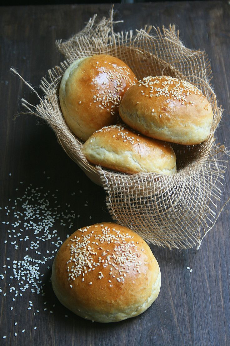 Pains burgers Buns - Passion culinaire 1