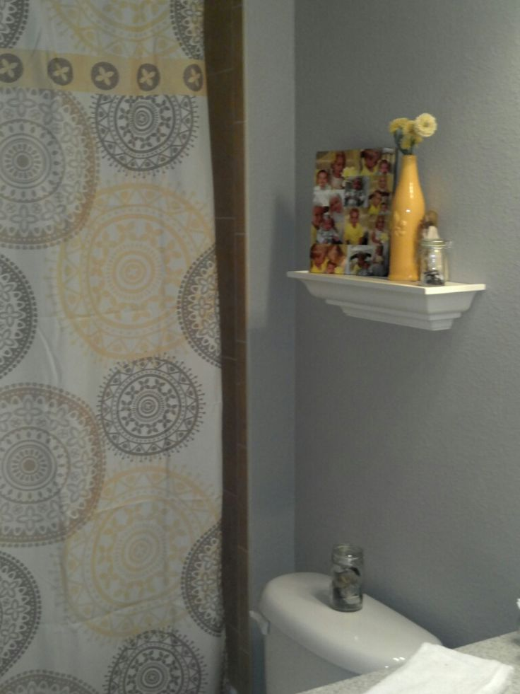 11 best yellow gray bathroom ideas images on pinterest diy yellow and architecture. Black Bedroom Furniture Sets. Home Design Ideas