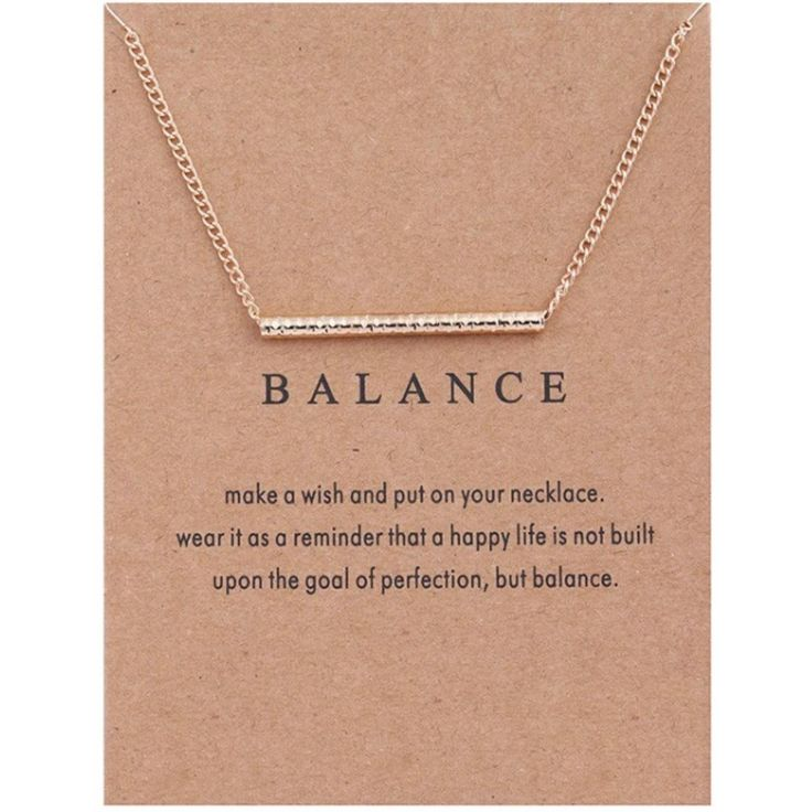 Balance Bar Necklace, Gold Dipped, Dogeared Necklace, Gift Ideas, Yoga, Fitness, Weightloss, Motivation, Birthday, Reward, Gift, by MissFitBoutiqueCA on Etsy https://www.etsy.com/ca/listing/551268461/balance-bar-necklace-gold-dipped
