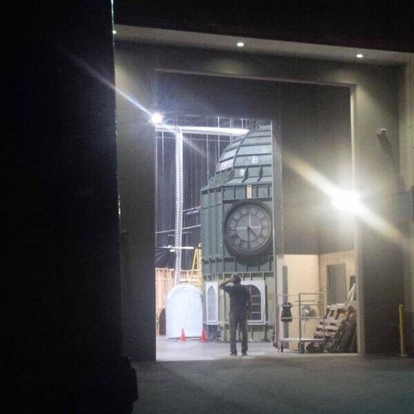 One of the awesome soundstages with an awesome set on/for #Once #Storybrooke #Maine #StevestonVillage #RichmondBC #Canada