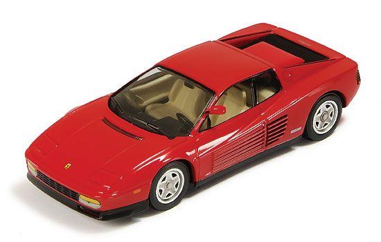 ixo Ferrari Testarossa 1984 in Red Beautifully crafted Ferrari Testarossa 1984 diecast model car 1:43 scale die cast by ixo. This is a http://www.comparestoreprices.co.uk/diecast-model-cars--others/ixo-ferrari-testarossa-1984-in-red.asp
