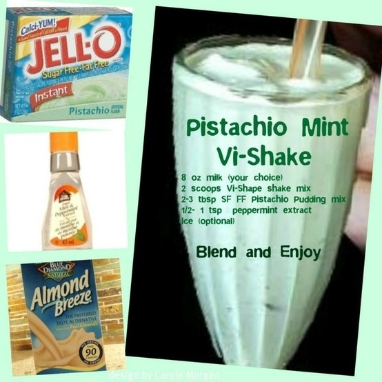 Pistachio Mint Body By Vi Shake Recipe