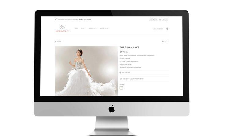Website Design - Product Detail