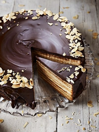 This Baumkuchen recipe from Jamie Oliver has real wow factor, but, despite taking some time to put together it is not particularly challenging to make.