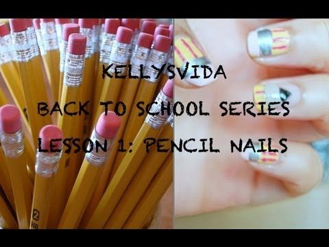 Best 25 pencil nails ideas on pinterest amazing nails cool back 2 school nail art pencil nails step by step tutorial products list prinsesfo Gallery