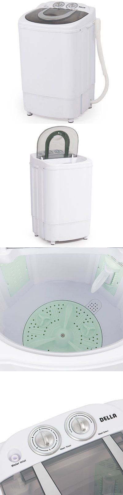 Washing Machines 71256: Della Mini Portable Washing Machine Spin Wash 8.8 Lbs Capacity Compact Laundry -> BUY IT NOW ONLY: $77.15 on eBay!