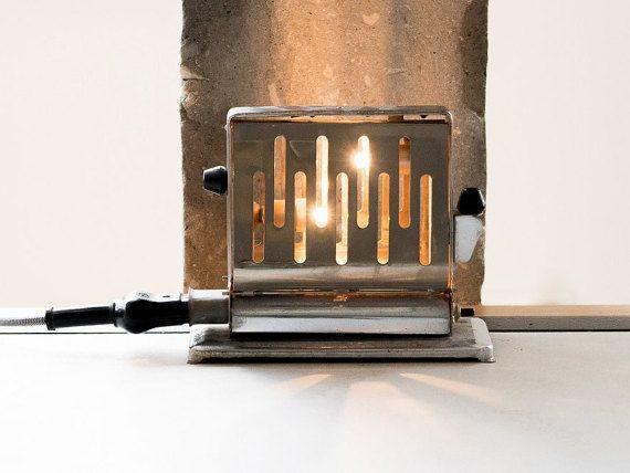Vintage tafel Lamp Steampunk lamp met bureaulamp door StudiORYX